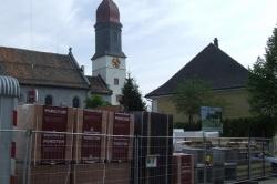 Gemeindezentrum Bauphase